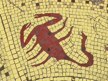 Scorpio. Zodiac sign in a mosaic style Royalty Free Stock Photo
