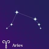 Scorpio zodiac vector sign, horoscope symbol, astrology line ico Royalty Free Stock Photo