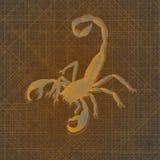 Scorpion royaltyfri illustrationer