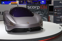 Scorpion Abarth Concept - Geneva 2011 Stock Photos