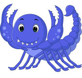 Scorpion cartoon Royalty Free Stock Photo