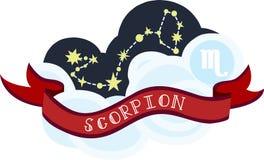 Scorpion Constellation Stock Image