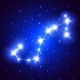 Scorpion constellation Royalty Free Stock Photo