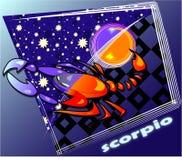 Scorpion d'Astro Photos stock