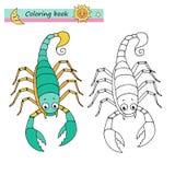 Scorpion de signe de zodiaque Image stock