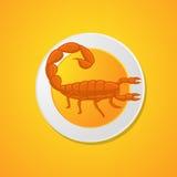 Scorpion Food Stock Image