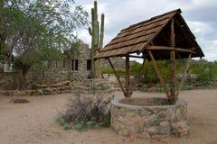 Scorpion Gulch de site historique de Phoenix Arizona image libre de droits