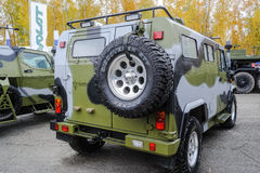 Scorpion-2M light armored vehicle. Rear view Royalty Free Stock Photography