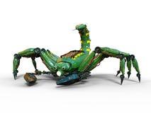 Scorpion robot Stock Photo