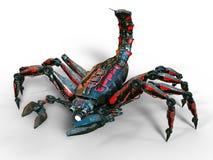 Scorpion robot Stock Images