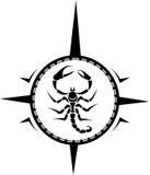 Scorpion Tattoo Royalty Free Stock Photos