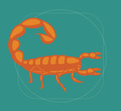 Scorpion Vector Royalty Free Stock Images