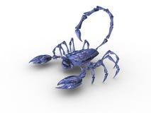 Scorpione 3d Fotografie Stock