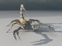 Scorpione del robot del metallo Fotografia Stock Libera da Diritti