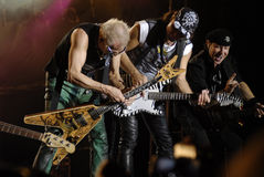 The Scorpions band royalty free stock image