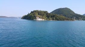 Scorpios Island, Greece Royalty Free Stock Image