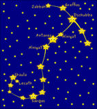 Scorpius constellation Stock Photography
