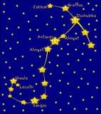 Scorpius constellation Stock Photography