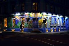 Scorpius, corner shop in Grunerlokka. Oslo Norway stock photography