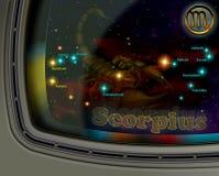 Scorpius van de constellatie Royalty-vrije Stock Afbeelding