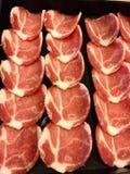 Scorrevole della carne di maiale Fotografia Stock Libera da Diritti