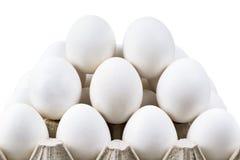 Scorrevole fresco delle uova Fotografia Stock Libera da Diritti