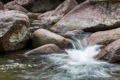 Scorrimenti dell'acqua Fotografia Stock