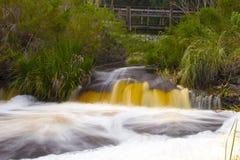 Scorrimento del fiume del DISA regolare Fotografie Stock