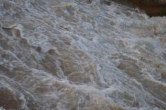 Scorrimento dell'acqua Immagini Stock