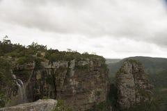 Scorrimento della cascata della gola di Oribi Fotografia Stock Libera da Diritti