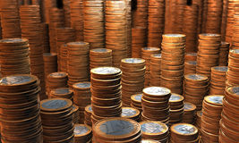 Scorta dei soldi Fotografie Stock