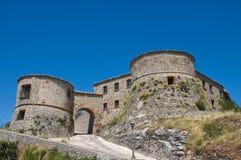 Scorticata Castle. Torriana. Emilia-Romagna. Italy Royalty Free Stock Images