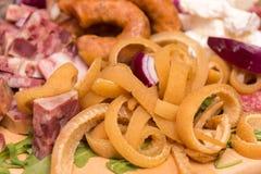 Scorza della carne di maiale Immagine Stock Libera da Diritti