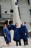 Scossa del cappello dei laureati Immagini Stock
