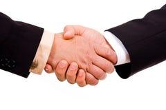 Scossa della mano degli uomini di affari Immagine Stock Libera da Diritti