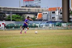 Scossa della palla da socker in Tailandia Fotografia Stock