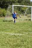 Scossa di calcio Fotografia Stock