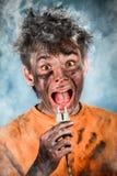 Scossa elettrica Fotografie Stock Libere da Diritti