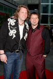 Scot & Jeff Bihlman. Arriving at the Love N' Dancing Premiere at the Arclight Cinemas in  Los Angeles, CA  on May 6, 2009 Stock Image