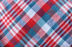 Scot texture fabric pattern background. Scot texture colorful fabric pattern background Royalty Free Stock Photography