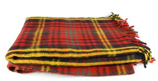 Scotch blanket. A scoth blanket for winter Royalty Free Stock Photos