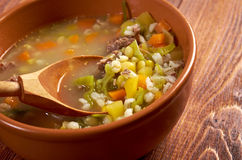 Scotch Broth Soup Royalty Free Stock Photography