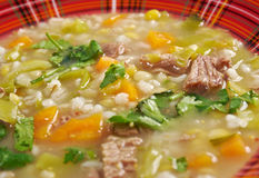 Scotch Broth Soup Stock Image