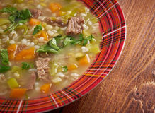 Scotch Broth Soup Royalty Free Stock Photos