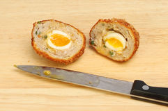Scotch egg Royalty Free Stock Image