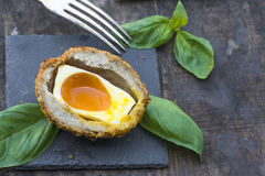Scotch egg Royalty Free Stock Photography