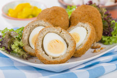Scotch Egg Stock Photo