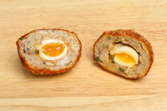 Scotch egg Stock Photo
