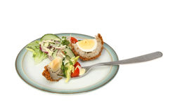 Scotch egg snack Royalty Free Stock Photography