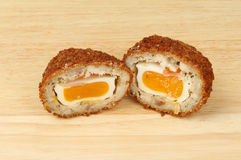 Scotch egg Royalty Free Stock Photos